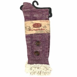 Brand New Clear Creek Ladies Over the Knee Socks